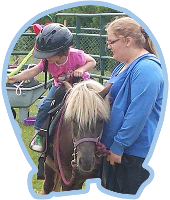Enfant et cheval - Ranch des Petits Amis