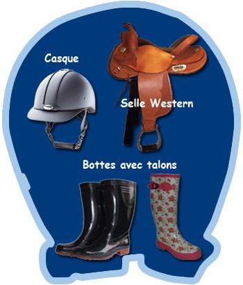 Équipement - Ranch petits amis - Ranch des petits amis - Ste-Hélène-de-Bagot - Équitation - Quarter Horse - Poney - Cours d'équitation - Équi-Qualité
